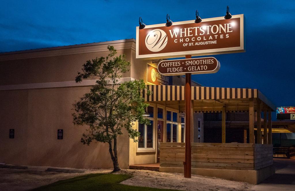 Whetstone Pylon Sign